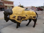 Buffalo Art in Custer