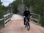 Jim Crossing Bridge
