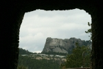 View of Mt. Rushmore through Tunnel