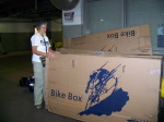 Joyce Unpacking Bike @ Union Station