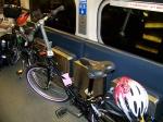 Bike on Union Pacific Train
