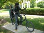Bike Artwork along Path