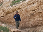 Ed Hiking into Canyon