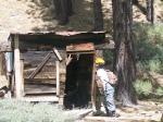 Joyce Exploring Mining Shack