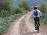 Joyce on Union Pacific Trail
