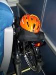Bike Tucked Behind Seat