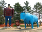 Paul Bunyan & Babe, the Blue Ox