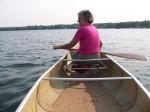Canoe Ride on Lake Bemidji