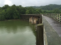 Scenic Bridge on Virginia Creeper