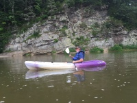 Ed Kayaking on New River