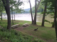 Picnic Area along River